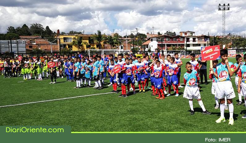 Photo of Inició en Rionegro el Festival Ponyfútbol Zonal Oriente