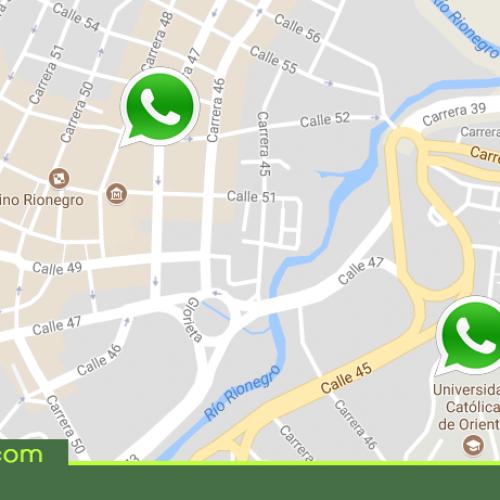 WhatsApp permitirá a sus usuarios compartir su ubicación en tiempo real