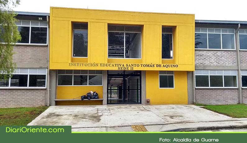 Photo of En Guarne se inauguró la segunda sede de la Institución Educativa Santo Tomás de Aquino.