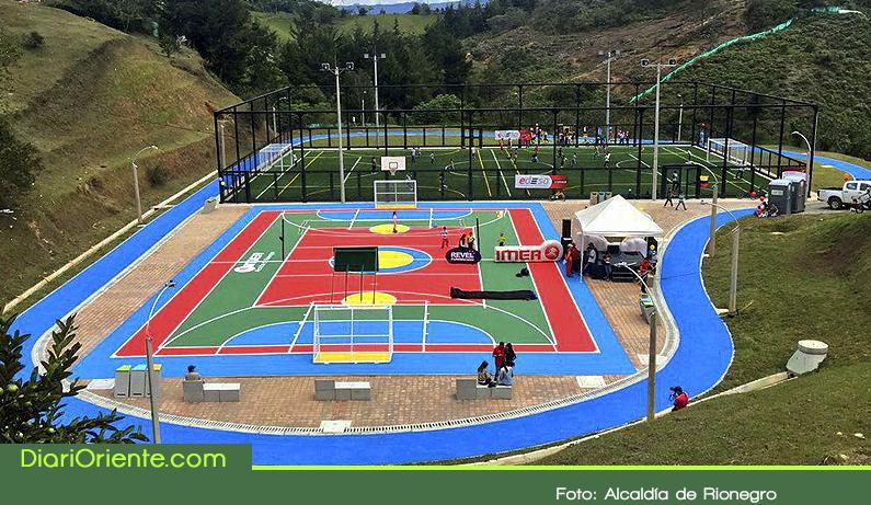 Photo of Se inauguró en Rionegro una nueva unidad deportiva que beneficia a más de doce mil personas