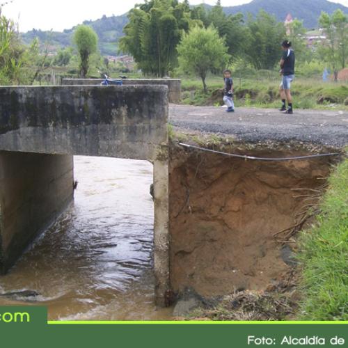 El sector La Chapa en El Santuario tendrá nuevo puente.