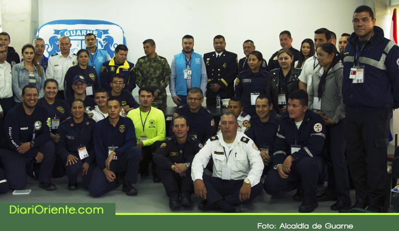 Photo of Con instructores internacionales se realizó en Guarne curso en prevención y atención de desastres.