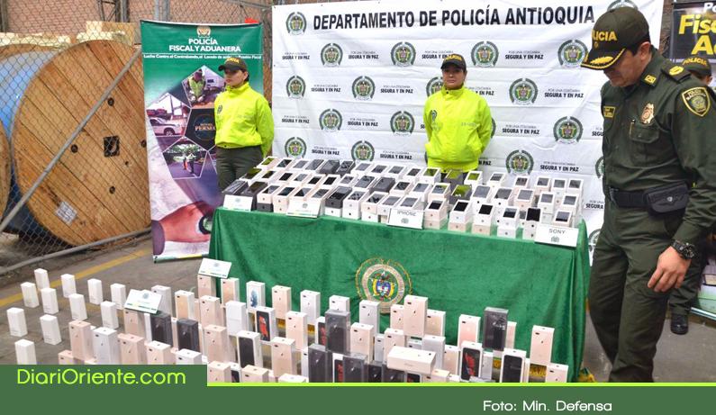 Photo of 1650 celulares fueron incautados por la autoridades en el Oriente Antioqueño