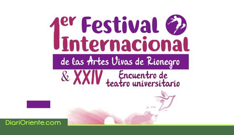 Photo of En Rionegro, se realiza el primer Festival Internacional de las Artes Vivas