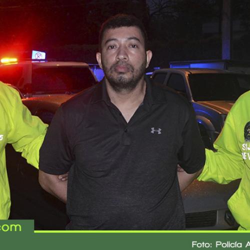"""En San Carlos capturaron a """"Hugo Pájaro"""", uno de los hombres más buscados de Medellín"""