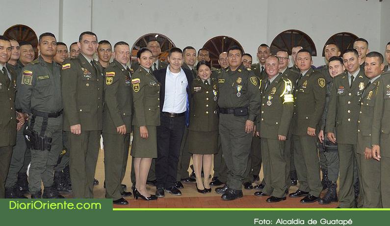 Photo of Alcaldía de Guatapé exaltó labor de la Policía Nacional