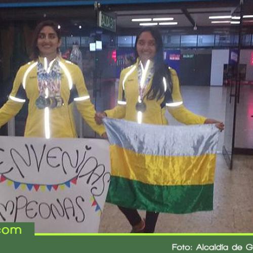 Deportistas de Guatapé se lucieron en canotaje en los Juegos Bolivarianos de 2017