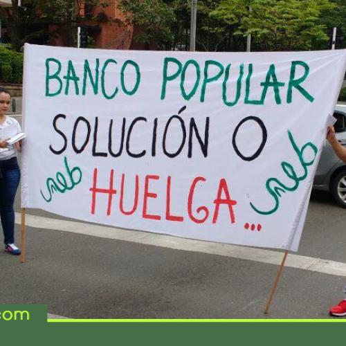 Aumenta la tensión en el Banco Popular por posible huelga a nivel nacional