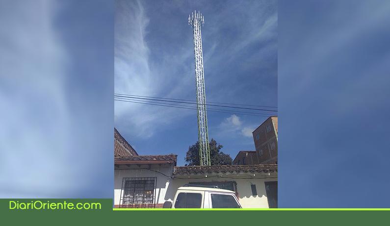 Photo of Sin licencia fue instalada antena de telecomunicación en El Carmen de Viboral