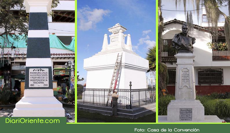 Photo of En Rionegro se realizan trabajos de restauración a monumentos y emblemas históricos.