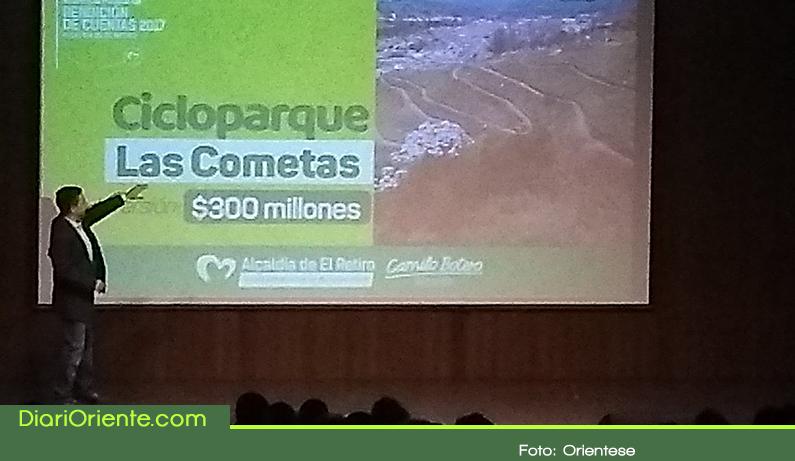 Photo of Alcalde de El Retiro presentó informe de gestión 2017