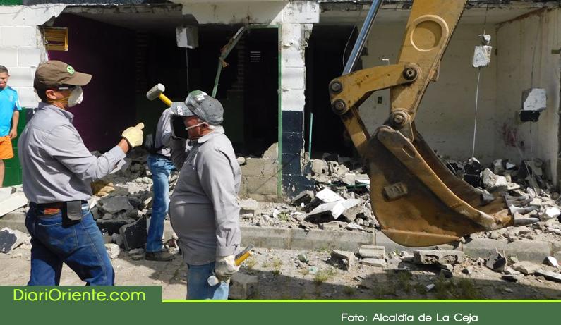 Photo of 27 capturas y dos vivienda demolidas tras operativos en el municipio de La Ceja