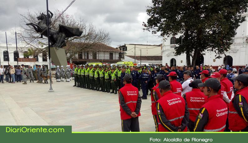 """Photo of Alcaldía realizó lanzamiento del Plan """"La navidad en Rionegro la paso seguro"""""""
