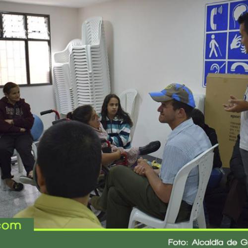 En Granada se fortalecen los procesos de inclusión con dotación deportiva para el aula de discapacidad