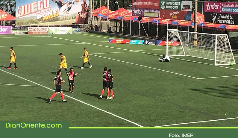 Photo of Rionegro vence al INDER Medellín y avanza a semifinales del Pony Fútbol
