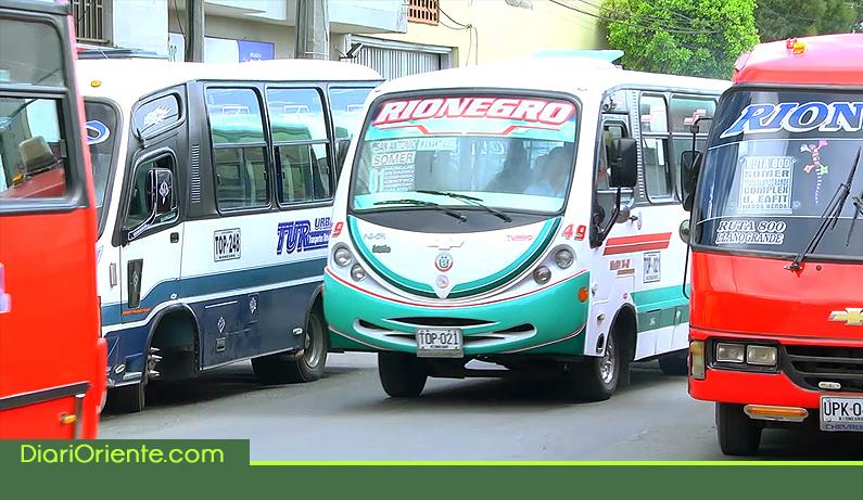 Photo of Estos son los cambios que se vienen en el transporte público de Rionegro