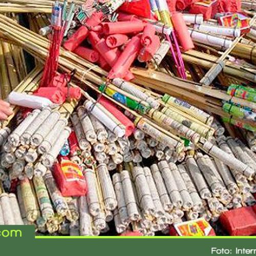 Alcaldías de El Santuario, Rionegro y La Ceja, podrían ser sancionadas, por permisos para vender pólvora