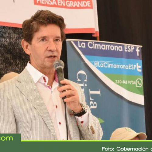 Gobernador promete inversión de 2000 mil millones de pesos en Granada