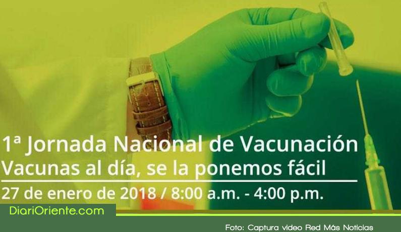 Photo of Este sábado, gran jornada nacional de vacunación gratuita