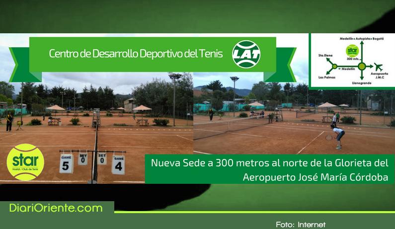 Photo of Se inaugura Centro de Desarrollo de Tenis de Campo en el Oriente Antioqueño