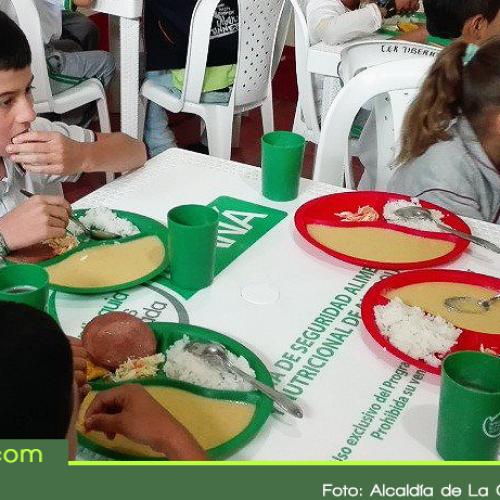Con 3.992 estudiantes inició en La Ceja el Programa de Alimentación Escolar