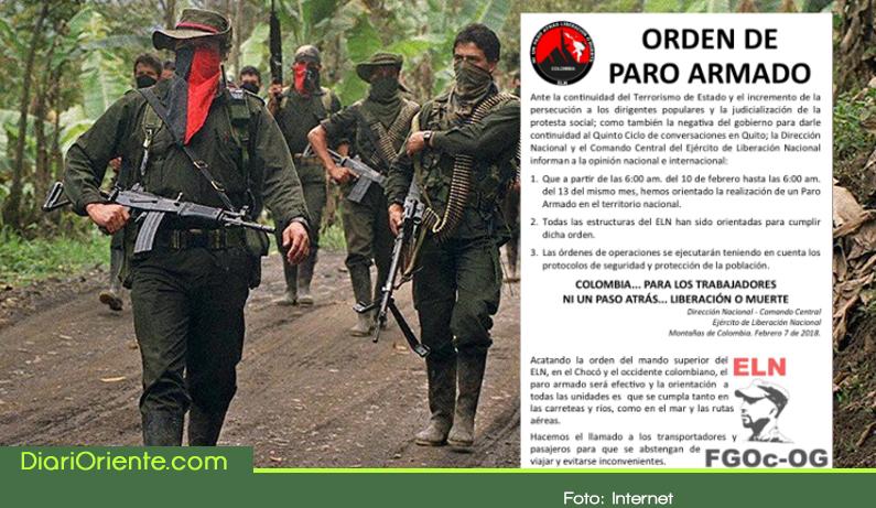 Photo of Tras el anuncio del paro armado del ELN ¿Cuáles regiones de Antioquia están en riesgo?