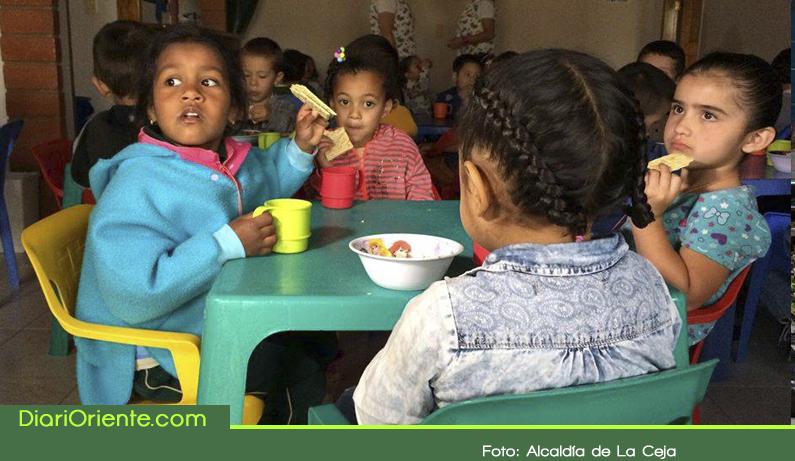 """Photo of Inició en La Ceja el programa """"Buen Comienzo"""" que atiende a 1140 niños"""