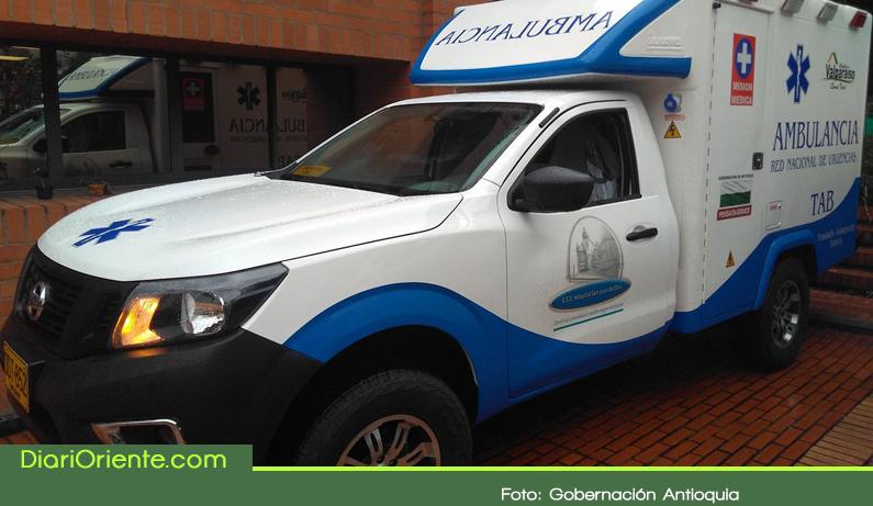 Photo of Gobernación entrega ambulancias al municipio de Cocorná y Abejorral
