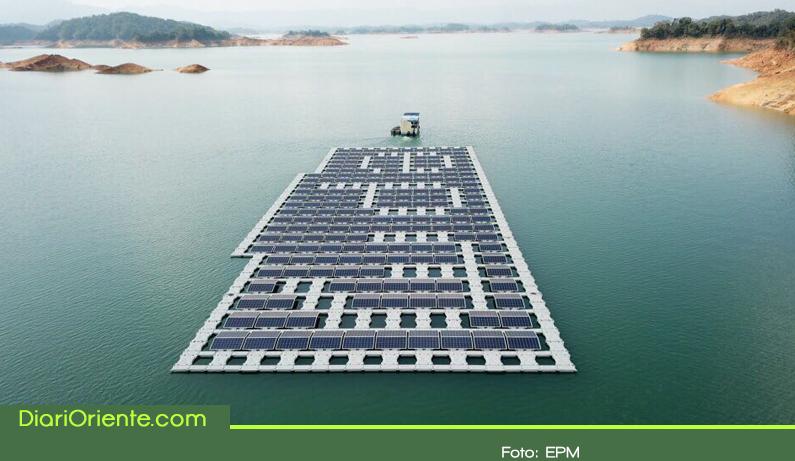 Photo of En el Oriente Antioqueño está el primer parque solar flotante de hispanoamérica