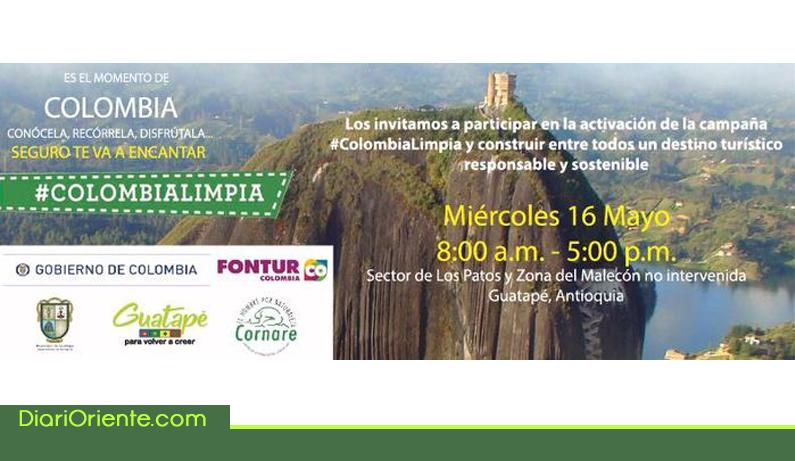 Photo of Guatapé se une a la campaña 'Colombia limpia' para cuidado de los destinos turísticos