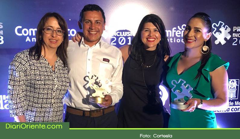 Photo of La Alcaldía de Rionegro obtuvo el primer puesto en los Premios Inclusión 2018