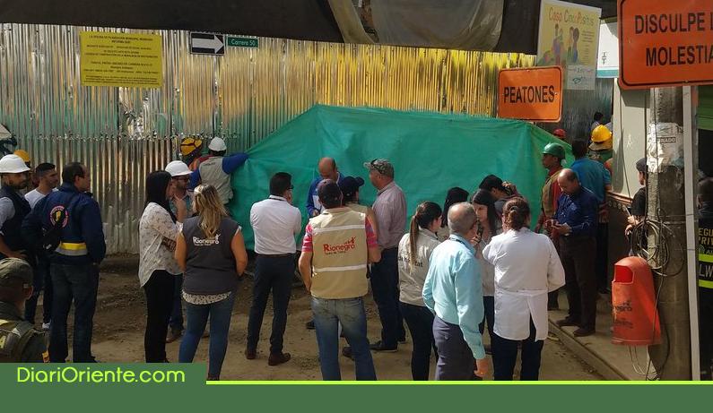 Photo of Un obrero murió y dos resultaron heridos por caída de un muro en el centro de Rionegro
