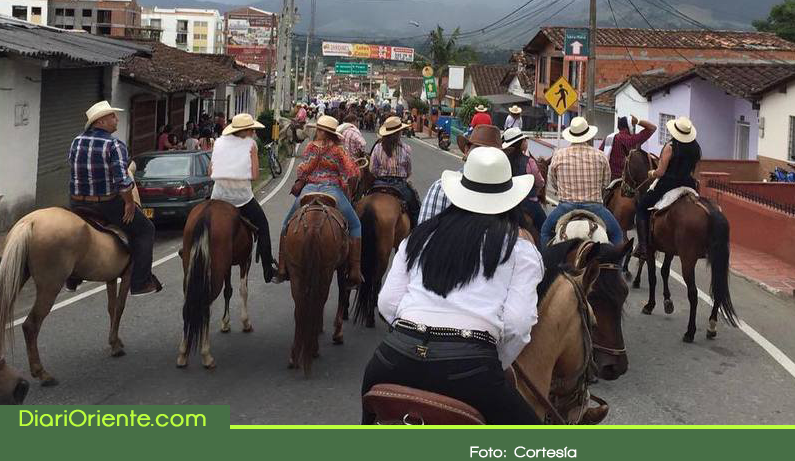 Photo of Cancelan cabalgata de las Fiestas de La Ceja, por brote de influenza equina