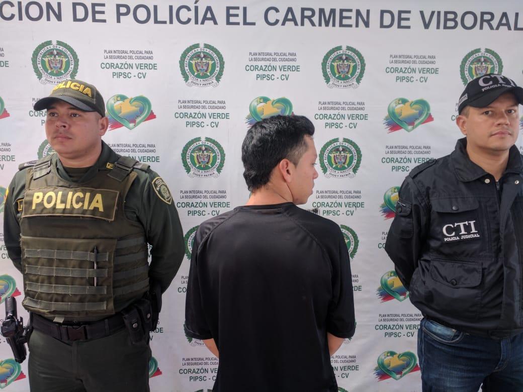 """Photo of Capturado alias """"Chispas"""", sindicado de cuatro homicidio en El Carmen de Viboral"""