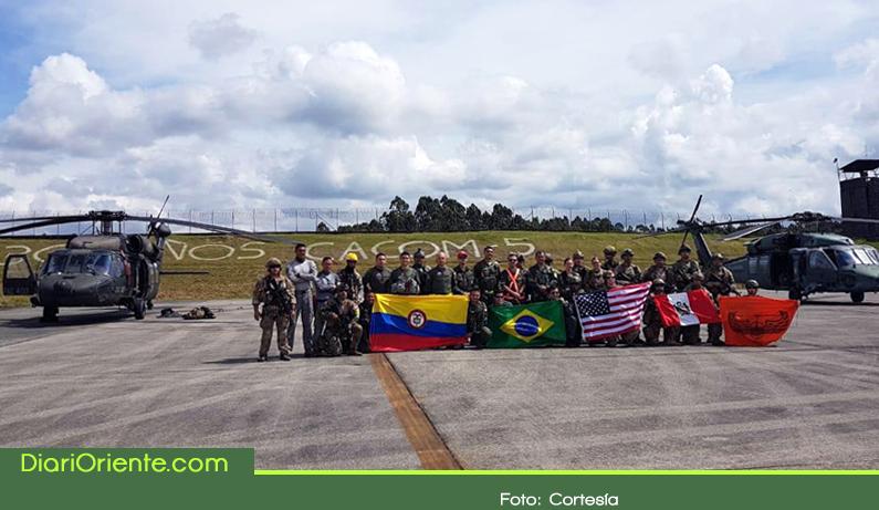 Photo of En el Oriente Antioqueño 12 países fortalecen su entrenamiento en misiones de rescate en combate
