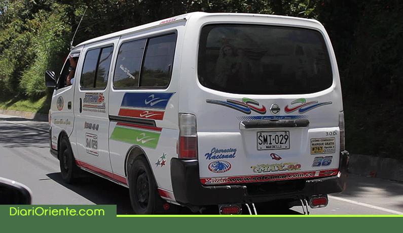 Photo of Empresa de transporte de Marinilla Sotramar, se echó para atrás en el aumento de sus tarifas.