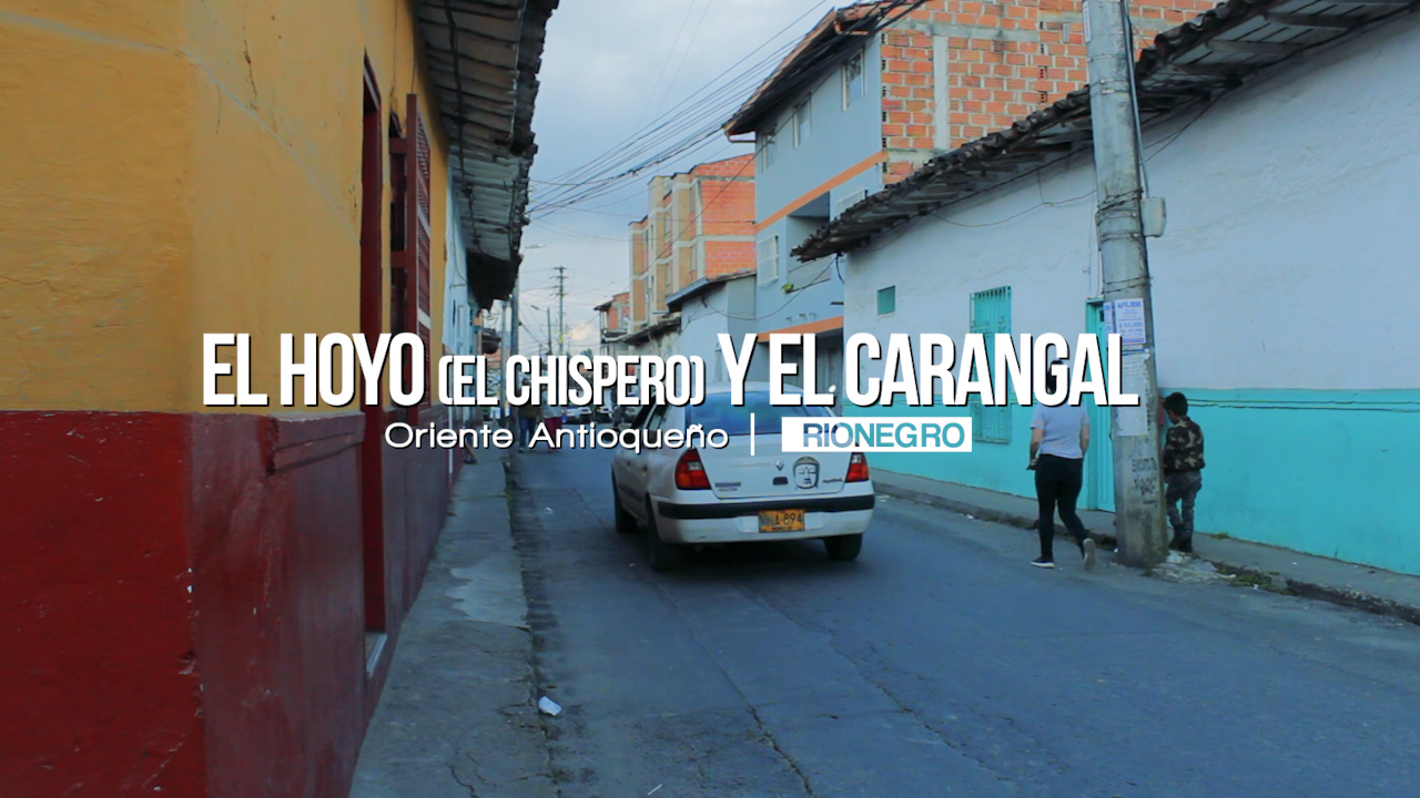 Photo of El Hoyo (El Chispero) y la calle El Carangal en Rionegro