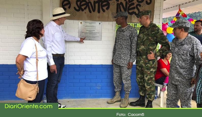 Photo of Alcaldía y la Fuerza Aérea inauguran nuevo centro educativo en El Carmen de Viboral