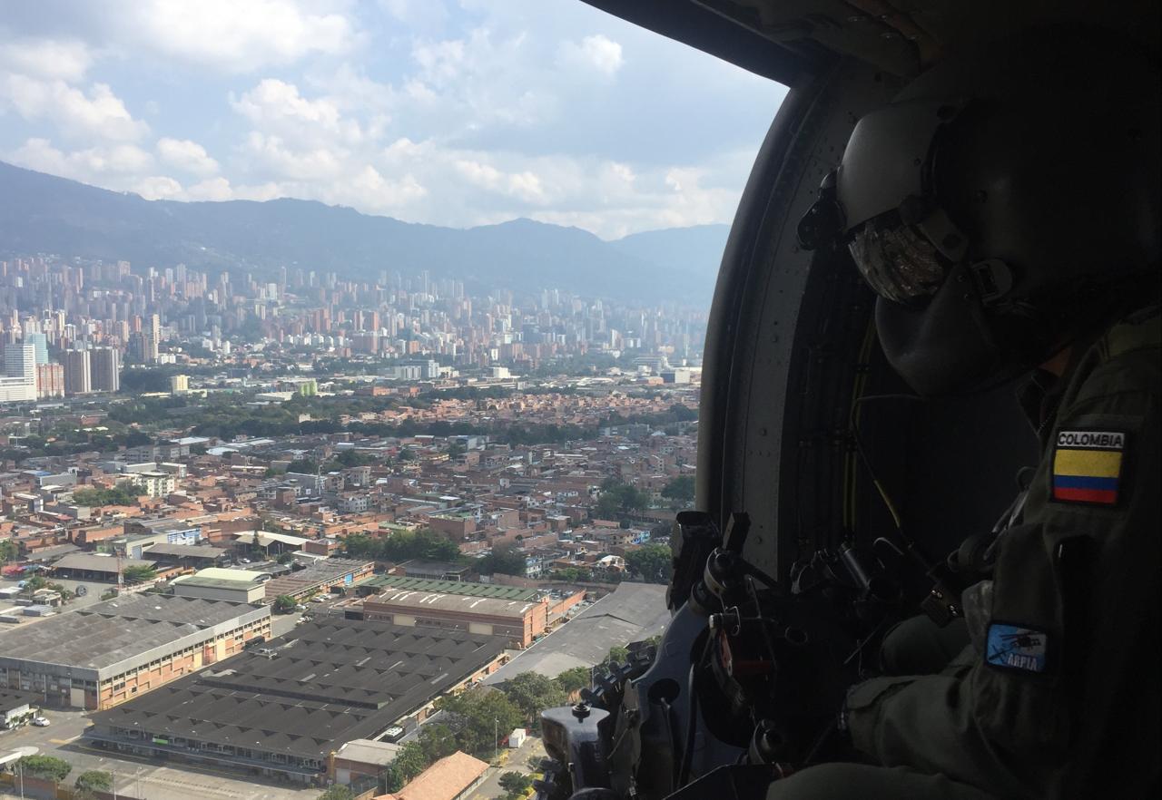 Photo of Fuerza Aérea mantiene vigilancia durante puente festivo en Antioquia y Chocó