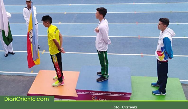 Photo of Un cejeño campeón nacional de atletismo en los Juegos Supérate Intercolegiados