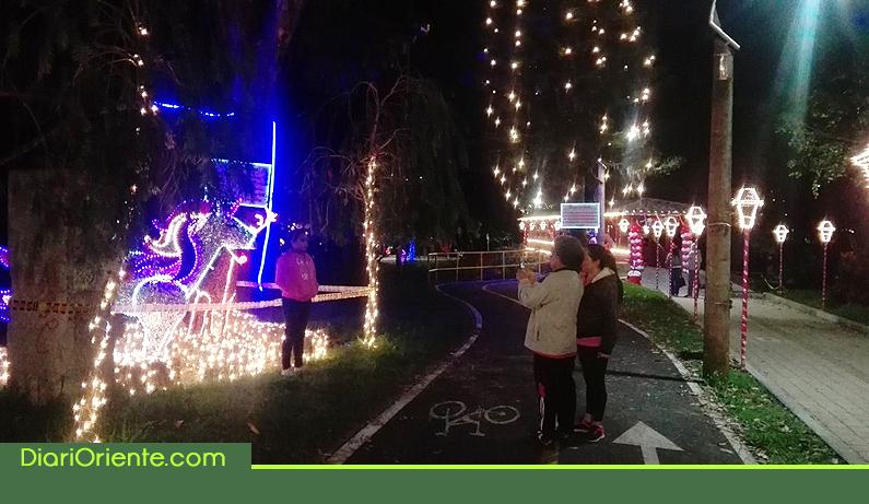 Photo of Rionegro disfruta la navidad con un alumbrado mágico