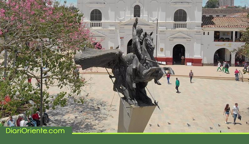 Photo of En Rionegro denuncian mal uso del monumento a José María Córdova