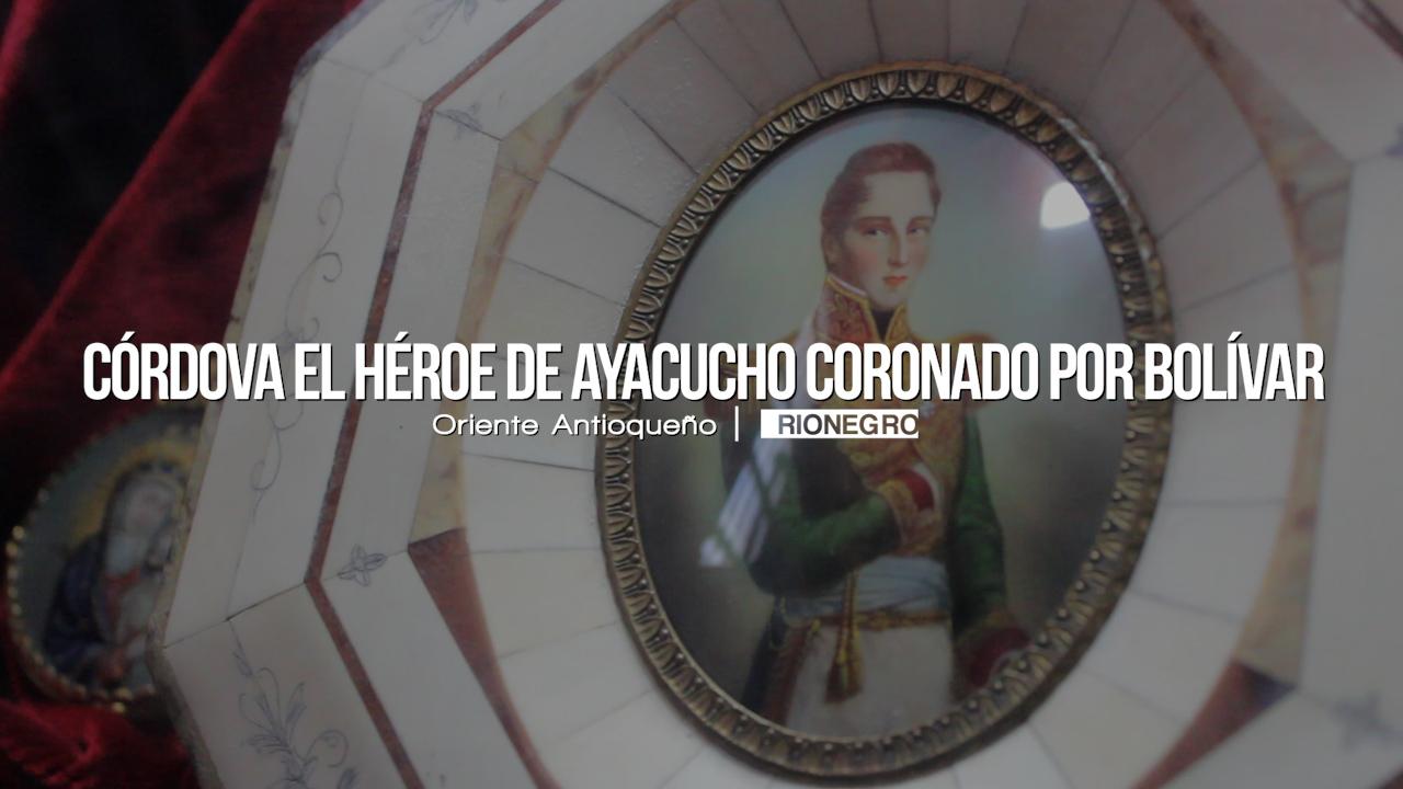 Photo of Córdova el verdadero libertador de Antioquia que fue coronado por Bolívar