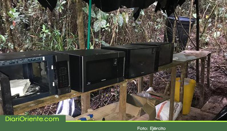 Photo of Autoridades destruyen laboratorio de coca en El Carmen de Viboral