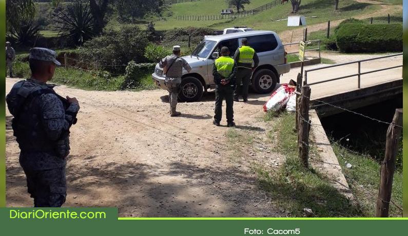 Photo of Con operativos del CACOM 5 fortalecen seguridad en Rionegro