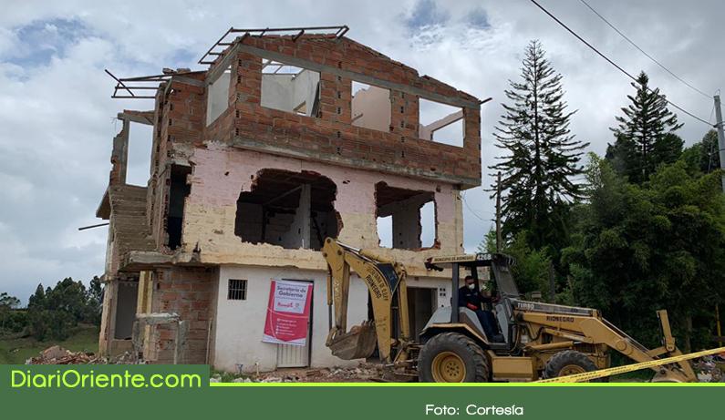 Photo of Demuelen otra casa de vicio en Rionegro
