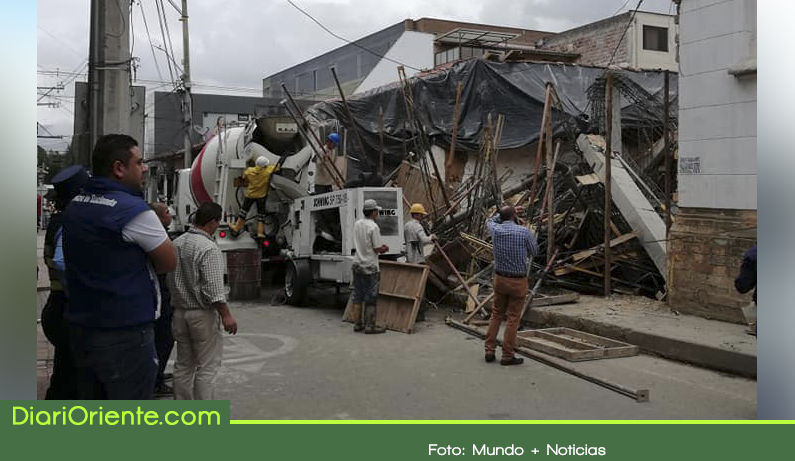 Photo of Un trabajador herido dejó colapso de obra en La Ceja