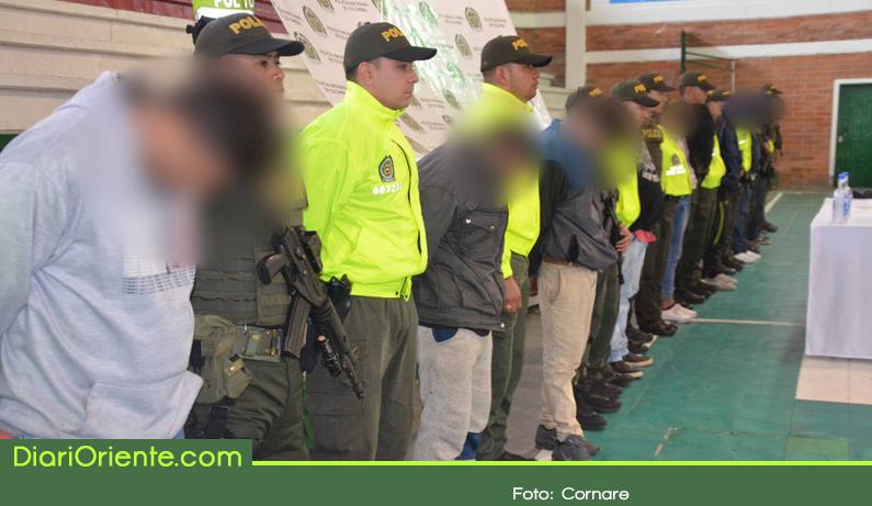 Photo of Operativo en Guarne deja 8 capturados de la banda delincuencial 'Los Mesas'