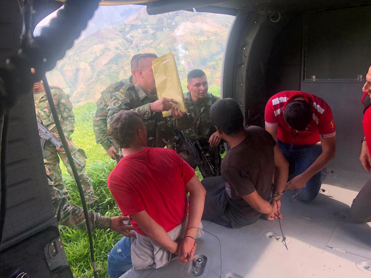 Photo of Capturados integrantes del Clan del Golfo en Antioquia