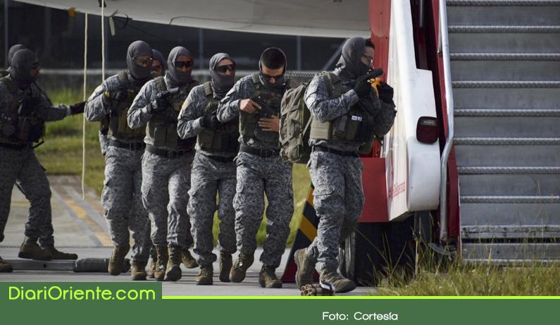 Photo of Con éxito se realizó simulacro de secuestro a un avión en el aeropuerto JMC de Rionegro